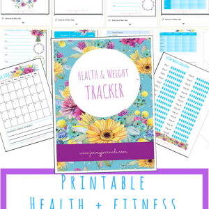 jenny journals printable health planner