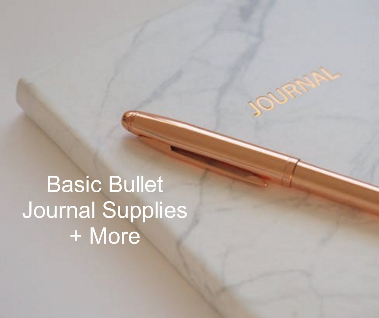 Basic Bullet Journal Supplies + More